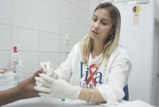 centro de atendimento - DST-Aids - Imagem: Eduardo Ribeiro