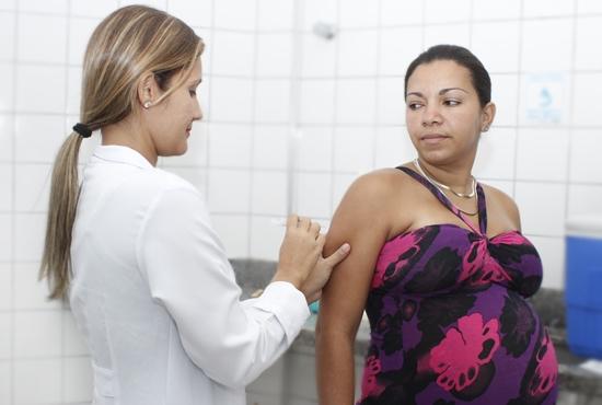 vacinação contra gripe - Imagem: Eduardo Ribeiro