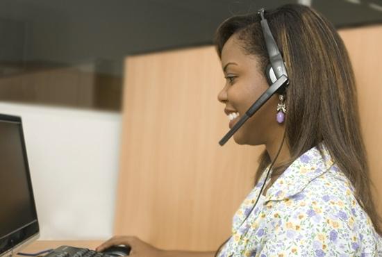 Profissão - telefonista - telemarketing - Imagem: Eduardo Ribeiro