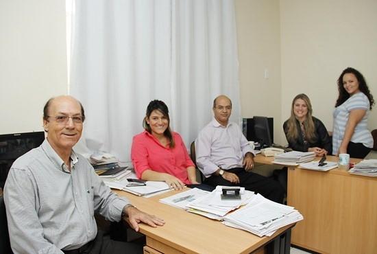 Equipe do Procom - Imagem: Eduardo Ribeiro