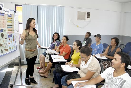 Curso de Inglês - Imagem: Eduardo Ribeiro