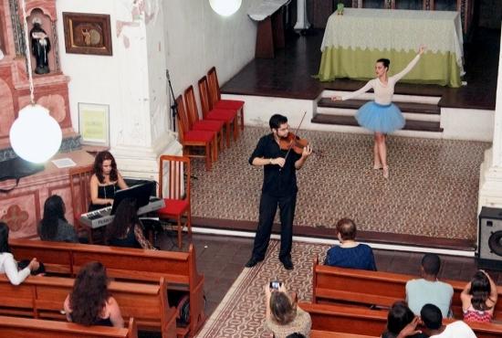 Concertos na Vila - Igreja do Rosário - Imagem: Zanete Dadalto