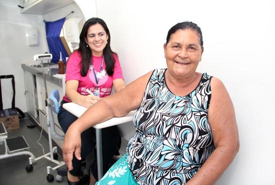 Van Itinerante da Saúde da Mulher em Santa Rita - Imagem: Eduardo Ribeiro
