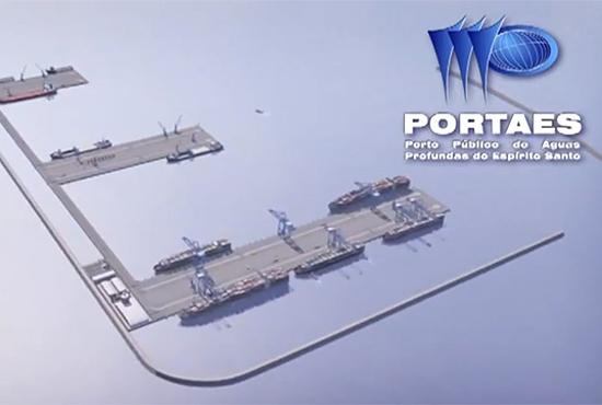 Porto Público de Águas Profundas do Espírito Santo - Portaes - Imagem: Divulgação