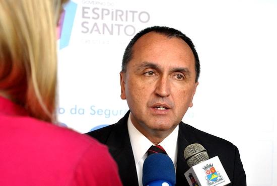 Prefeito Rodney Miranda participa do Seminário da Integração da Segurança Public - Imagem: Camila Vargas