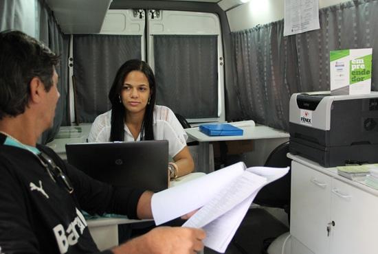 Carro de cadastramento do empreendedor individual - Imagem: Camila Vargas