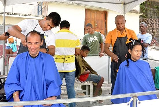 1ª Ação Integrada da Secretaria Municipal de Assistência Social - Imagem: Camila Vargas