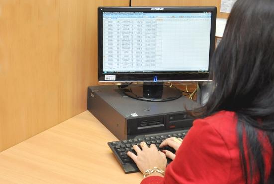 Curso de Qualificação em Micro Computadores - Imagem: Camila Vargas