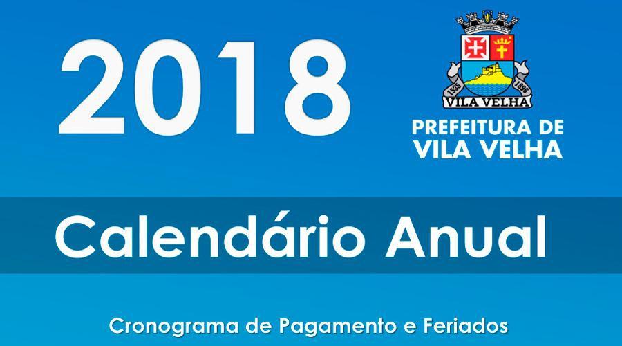 8f54dbe01 Prefeitura Municipal de Vila Velha: Prefeitura divulga calendário de ...