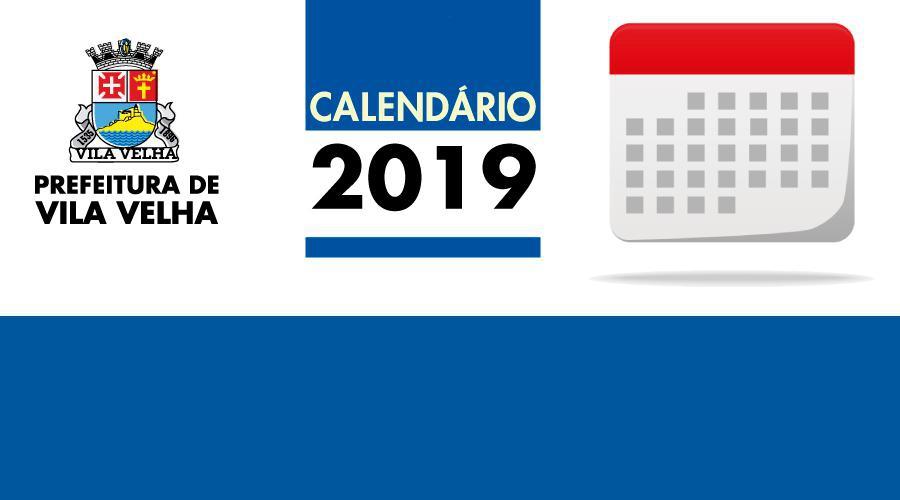 Calendario.Prefeitura Municipal De Vila Velha Prefeitura Divulga Calendario De